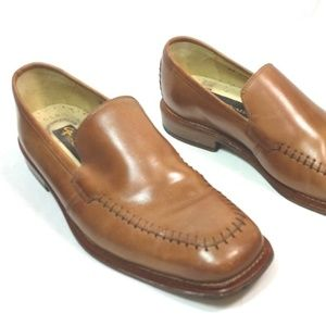 Stacy Adams Brown Leather Loafer Shoe Brazil
